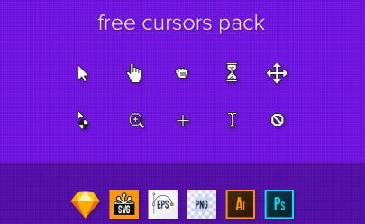 Free Cursors Designs Pack