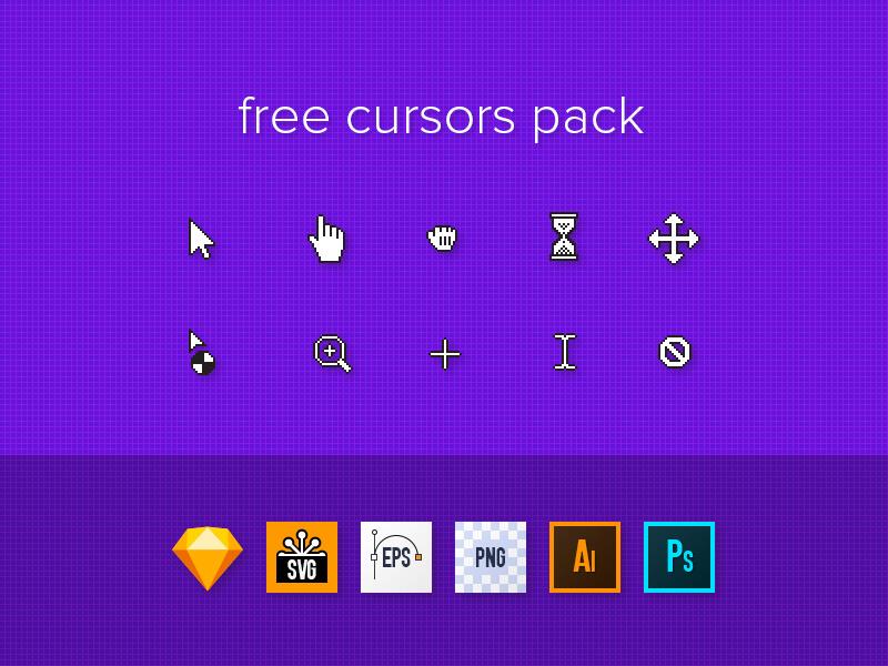 Free Cursors Designs Pack