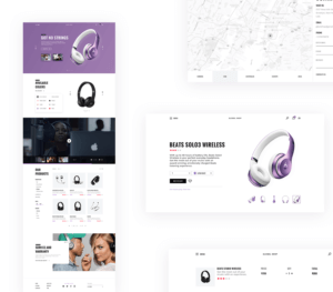 E-commerce UI Kit Free PSD