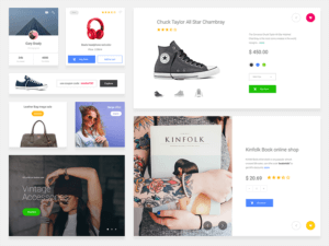 E-commerce Ui Kit Sketch App
