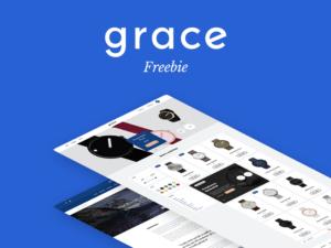 Grace UI Kit Free PSD