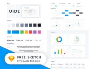 UIDE Kit (Style Guide Template) Sketchapp