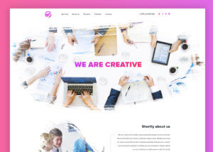 Watercolor inspiration Template PSD