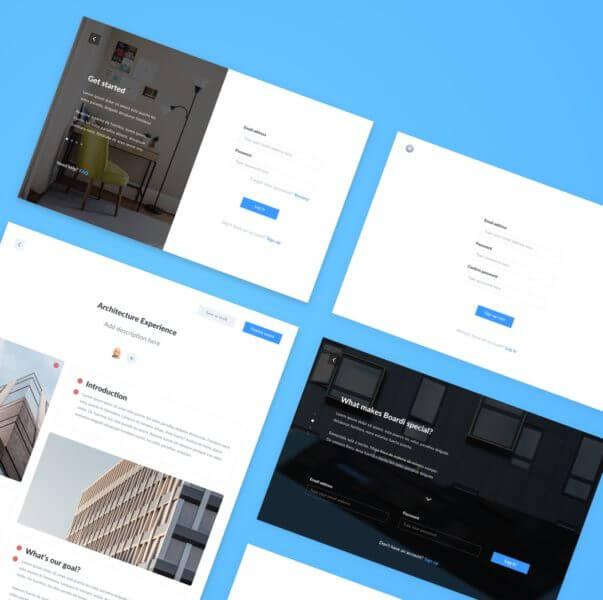 Boards management app sketchapp
