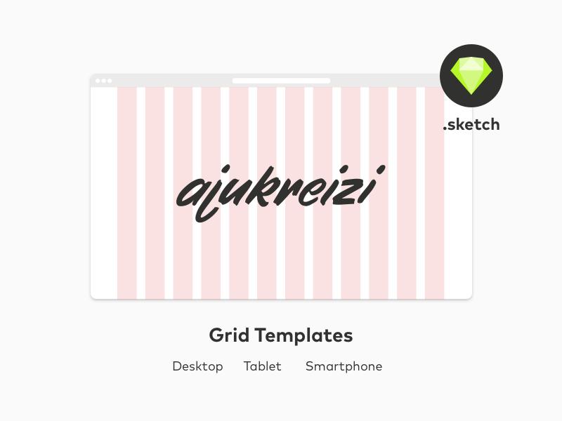 Grid Template-for Desktop-Tablet-Smartphone
