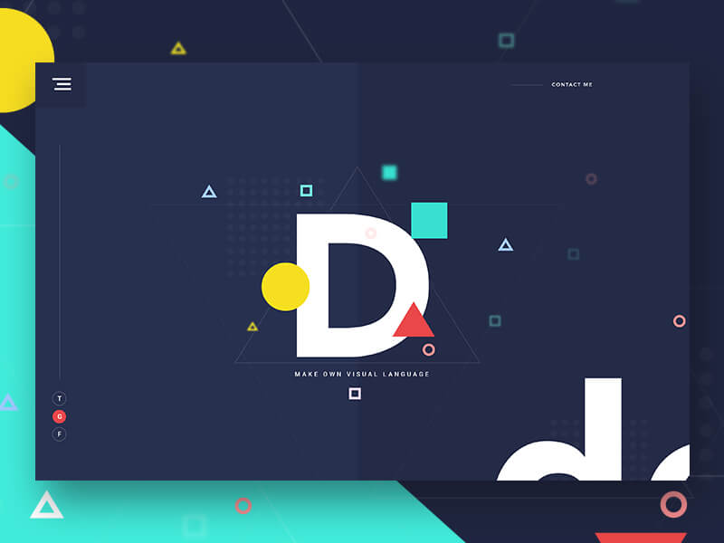 Simplicity, wit, and good typography Sketchapp