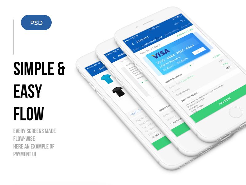 mobile_ecommerce_ui_kit_psd