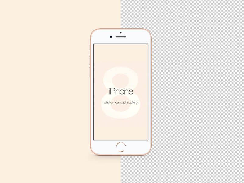 Iphone 8 Mockup Psd