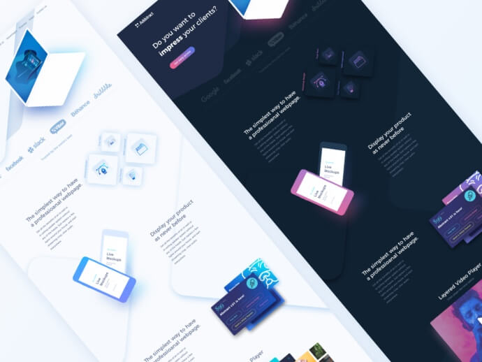 Gorgeous Website Template