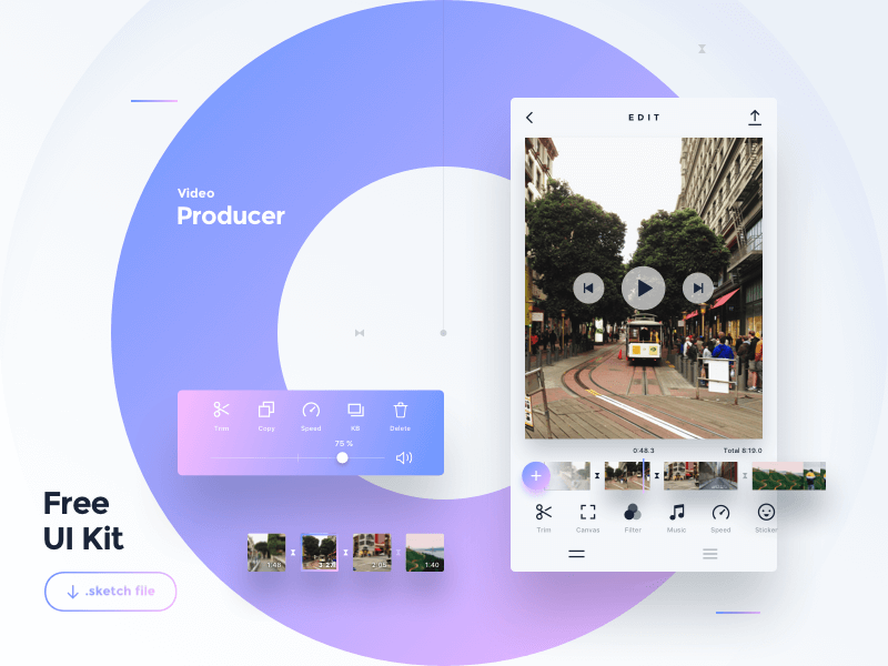 Video Producer App Sketch