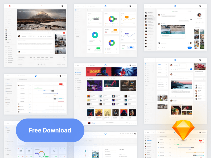 8 Web Interfaces for Sketch Free