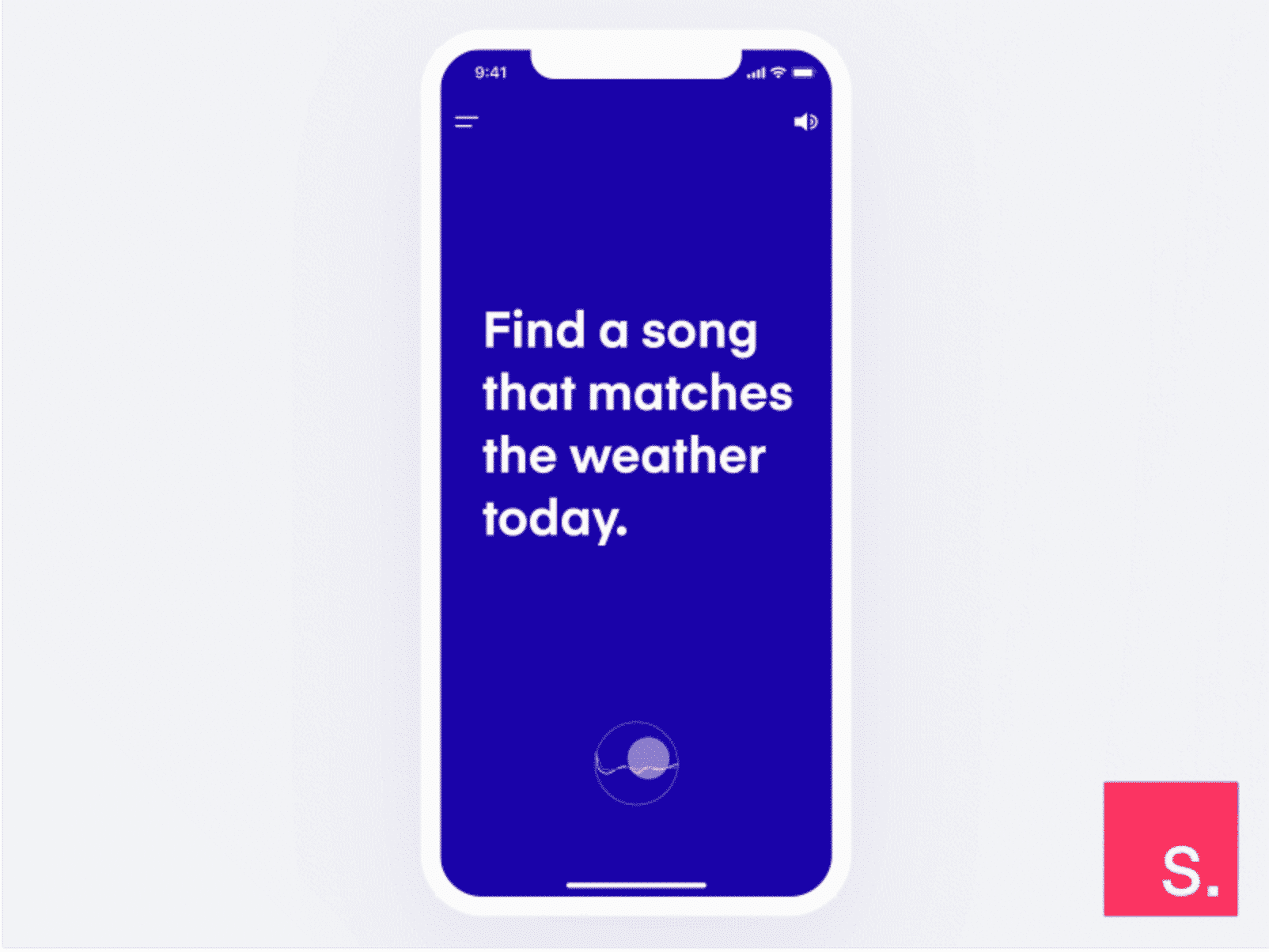 Voice Search InVision Studio (Free)