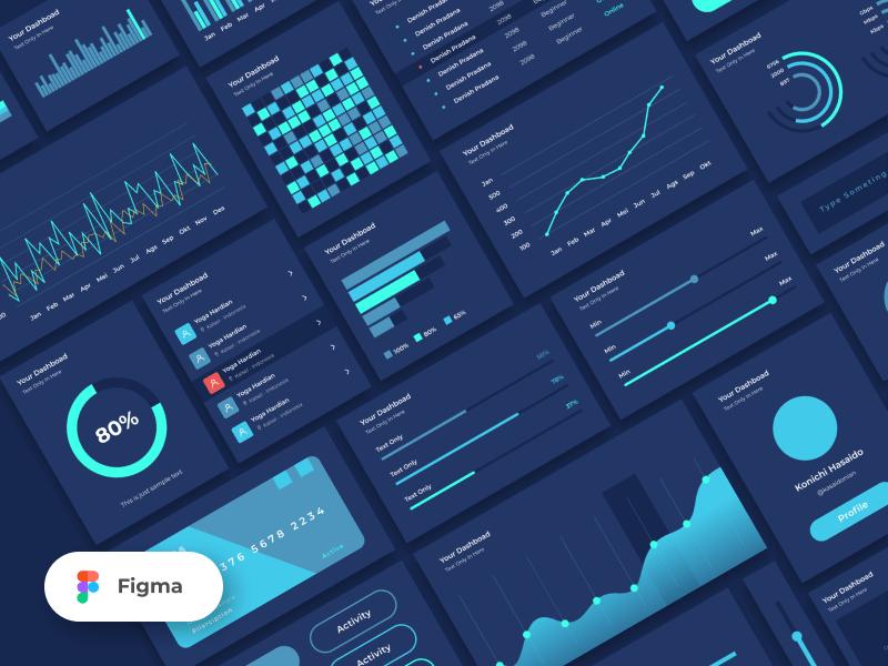 Grada – Free Figma UI Kit