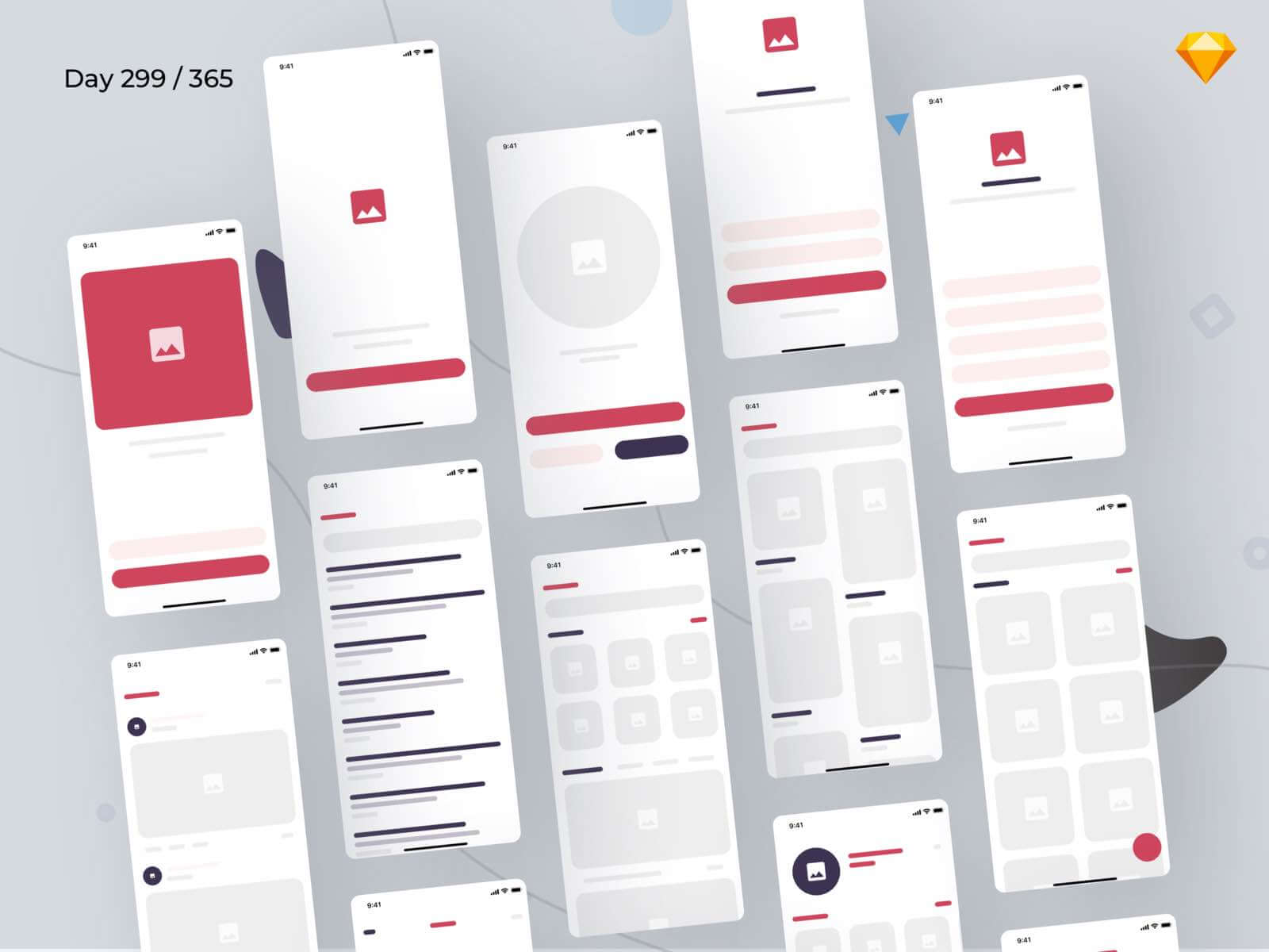 eCommerce Wireframe Kit Sketchapp