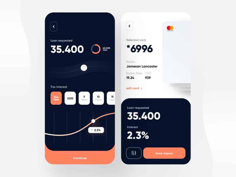 Loan App Sketch