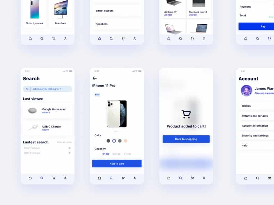 App design kit Free Figma